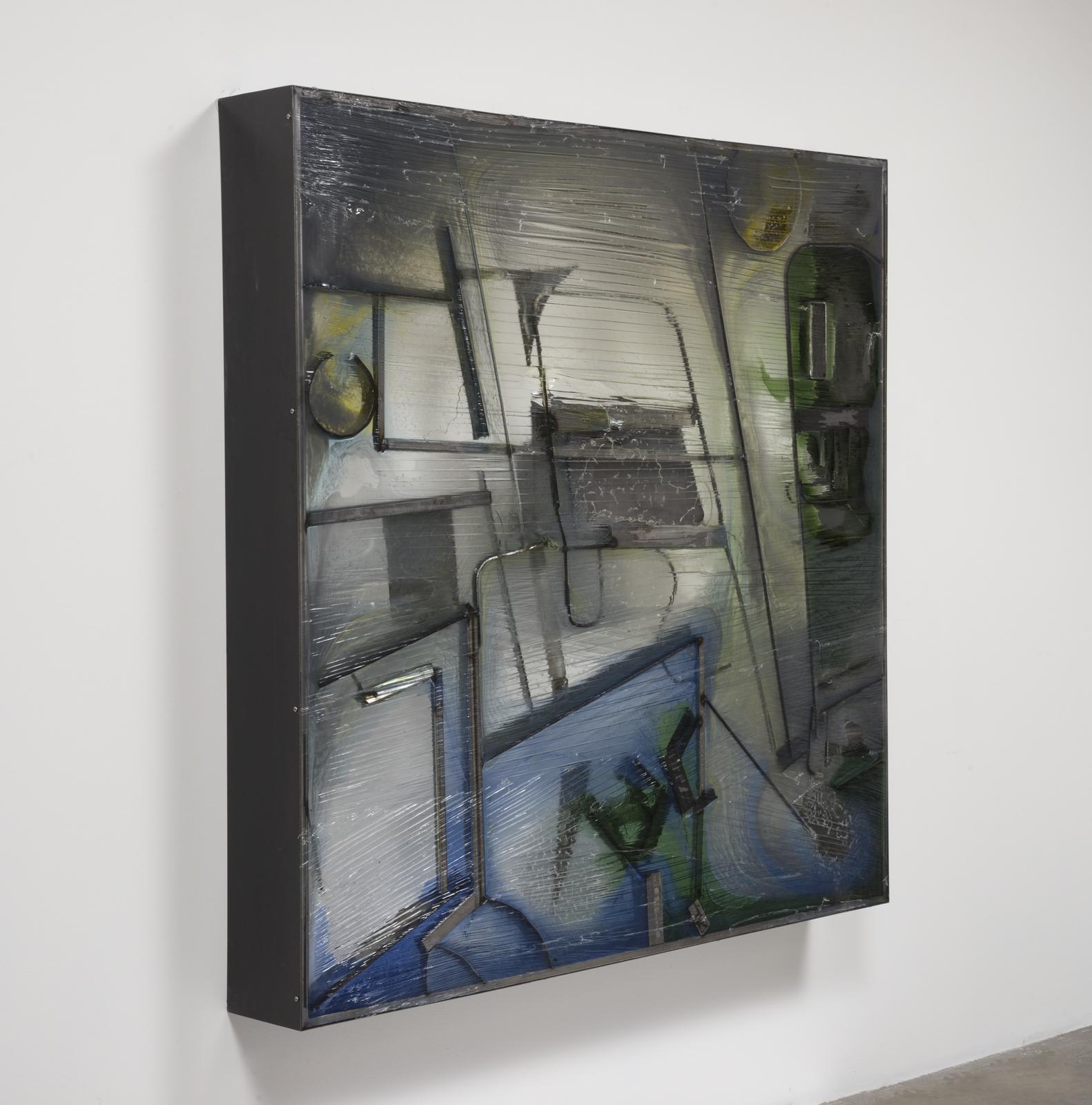 Neil Beloufa, Chutes d'Atelier, 2016 (16.001 b)