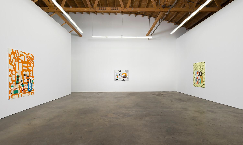 10_Farah Atassi, installation view, Ghebaly Gallery_001n