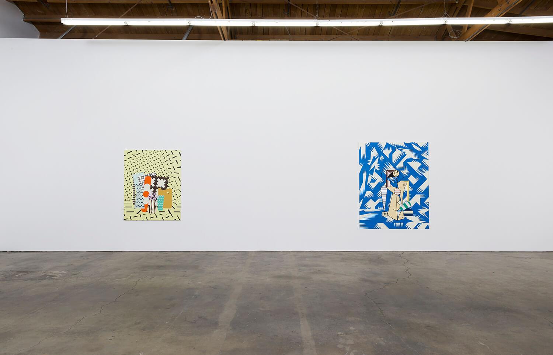 11_Farah Atassi, installation view, Ghebaly Gallery_001v2