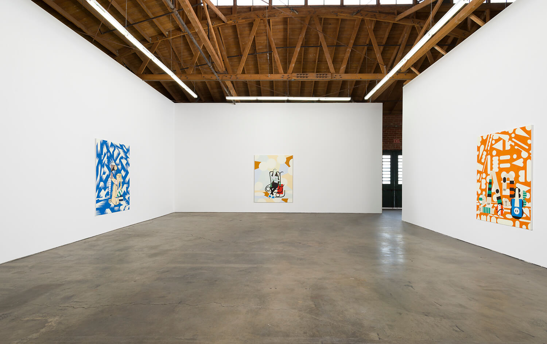 7_Farah Atassi, installation view, Ghebaly Gallery_002n