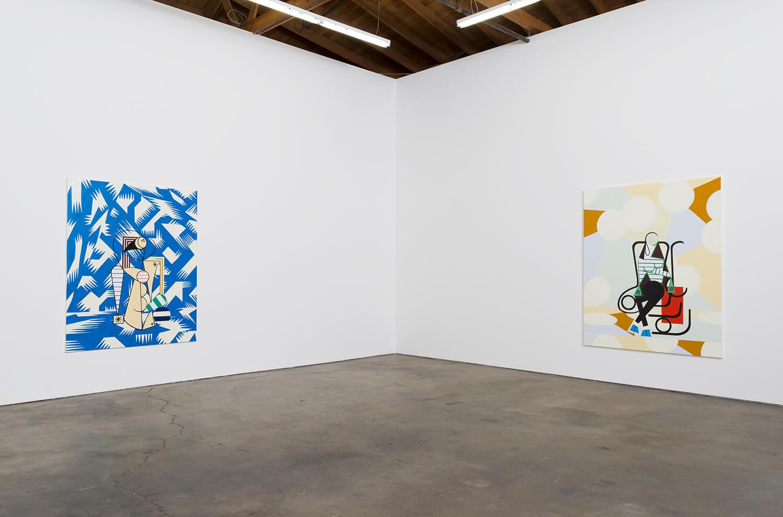 8_Farah Atassi, installation view, Ghebaly Gallery_003v2