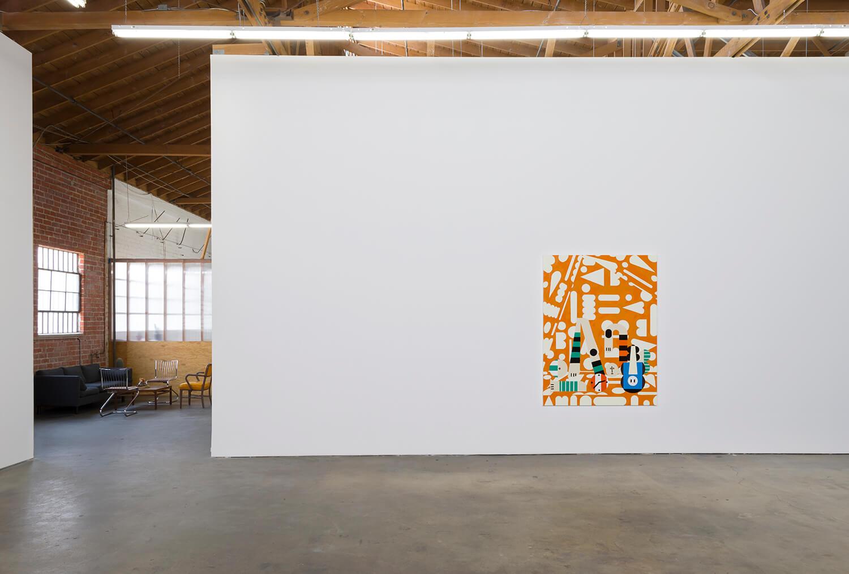 9_Farah Atassi, installation view, Ghebaly Gallery_008v2