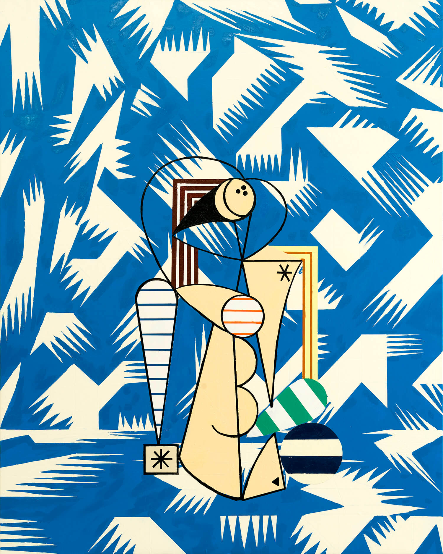 Farah Atassi, The Swimmer, 2017_FA 17.003_1