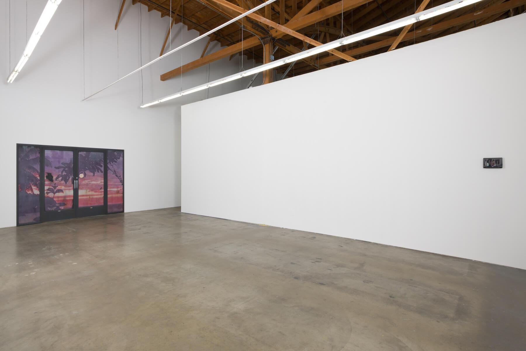 1_Sayre Gomez, installation view, Ghebaly Gallery