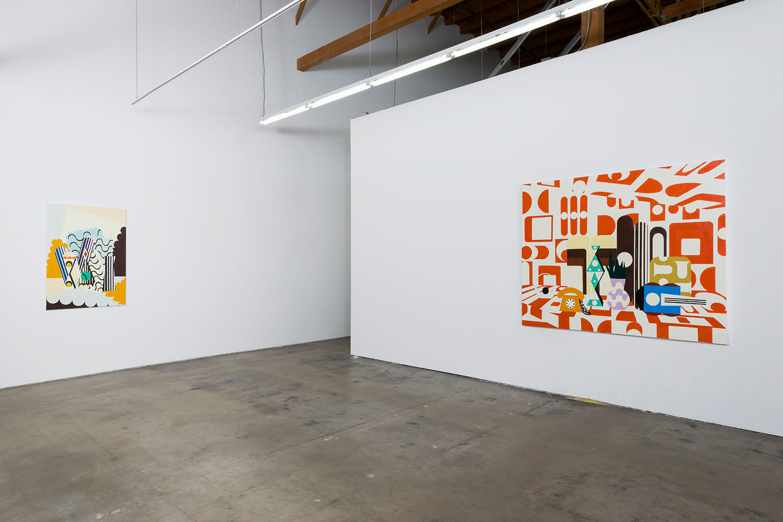 2_Farah Atassi, installation view, Ghebaly Gallery_009