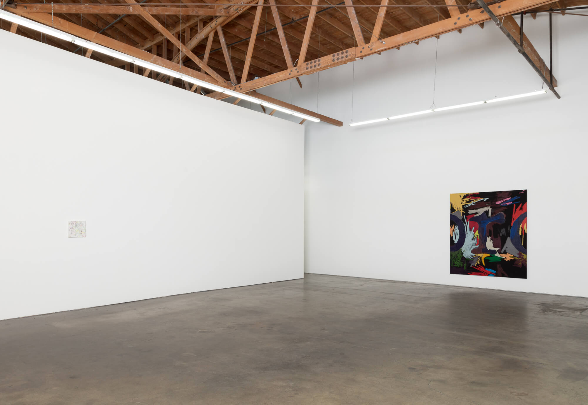 3_William Anastasi, installation view, Ghebaly Gallery