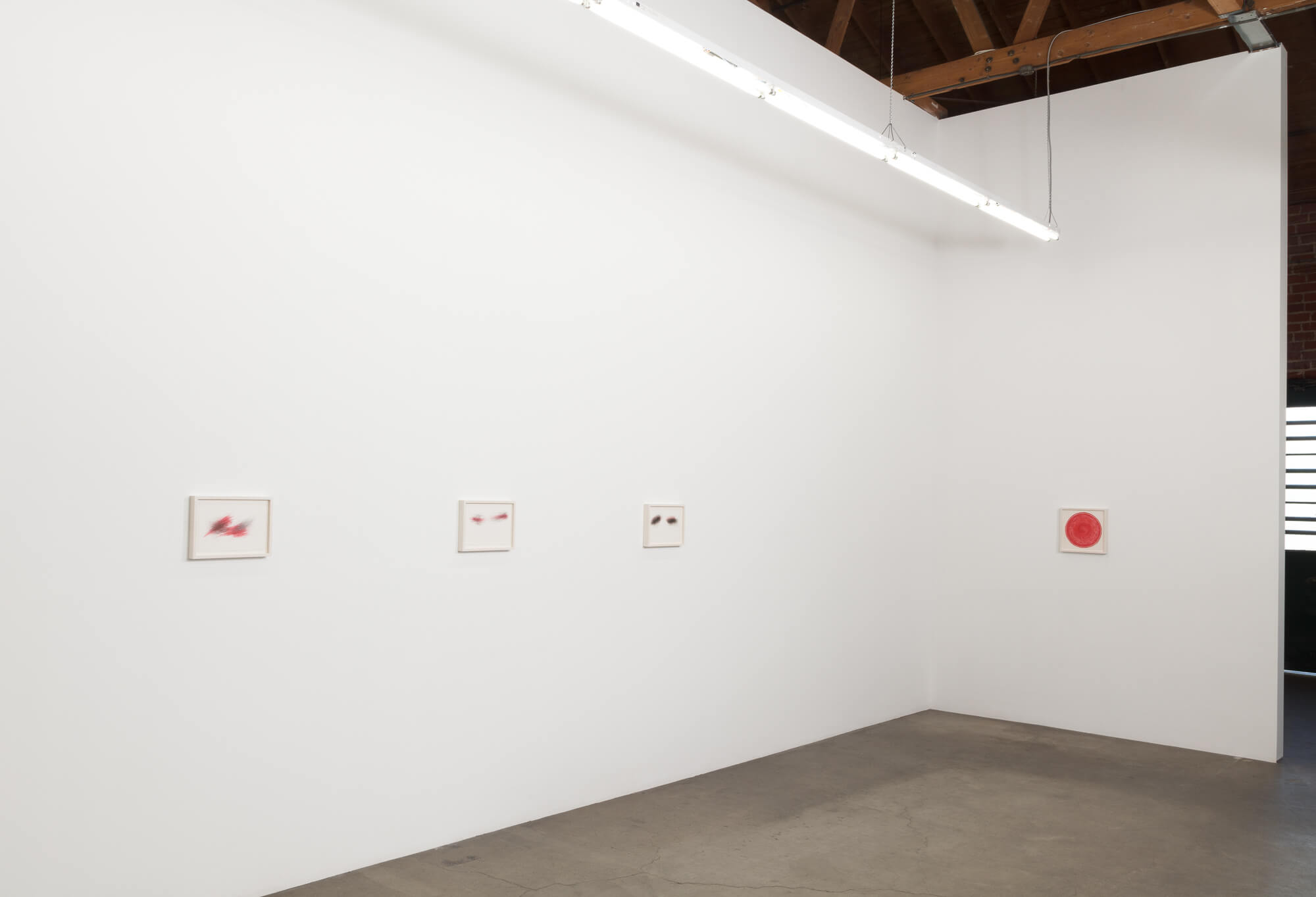 5_William Anastasi, installation view, Ghebaly Gallery