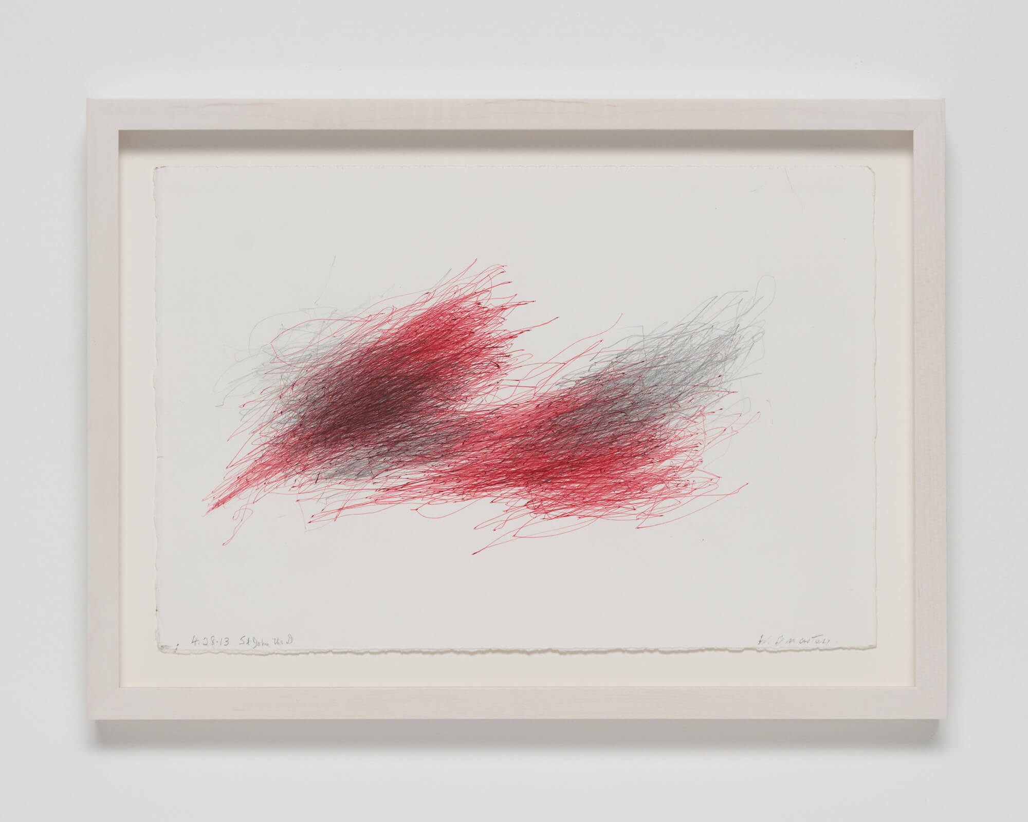 Anastasi, Untitled (Concert Drawing, St. John the D), 2013 (WA 13.002) A