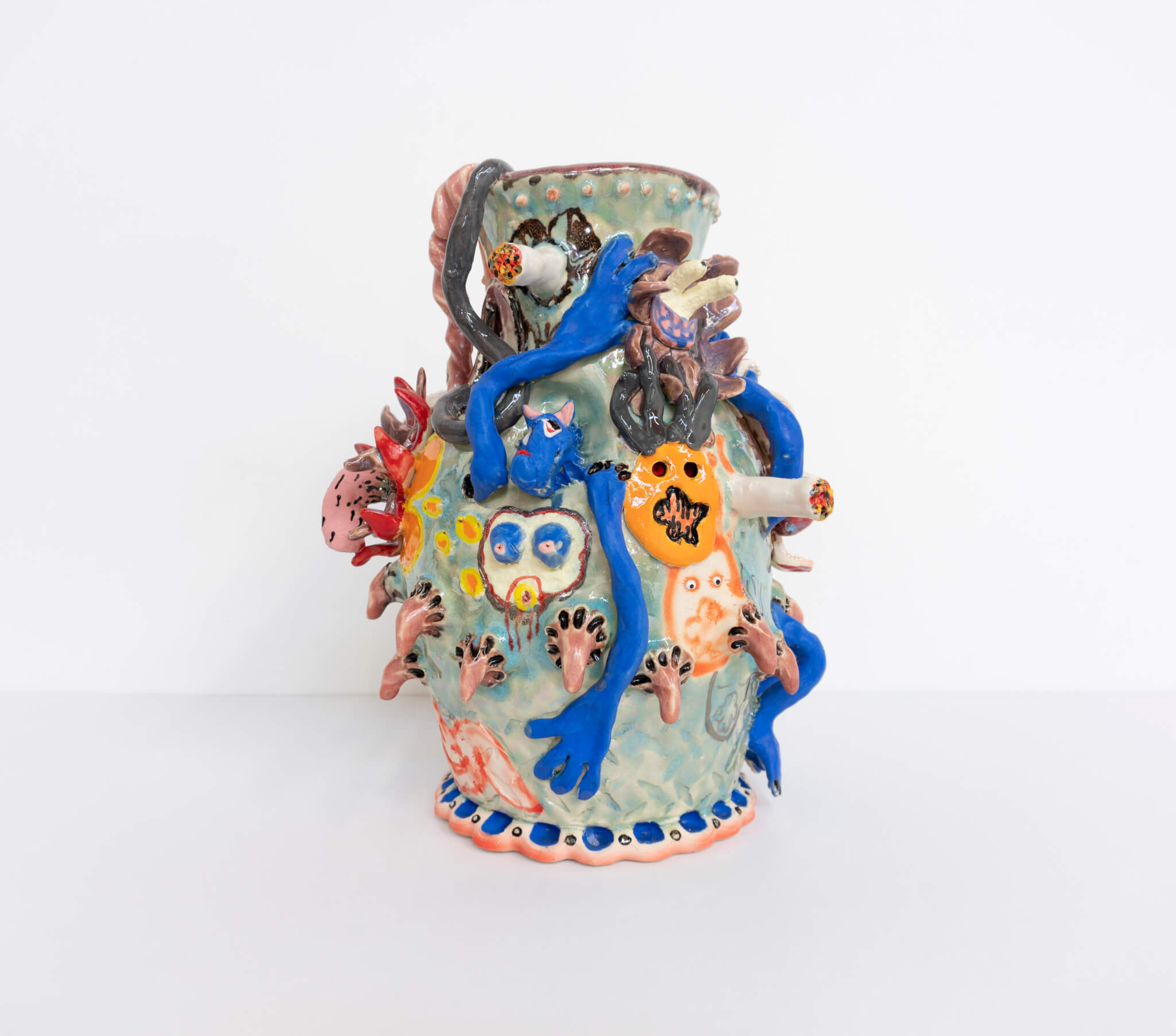 Farrag, Ice Blue Coyote Jug, 2019 (SF 19.026) D