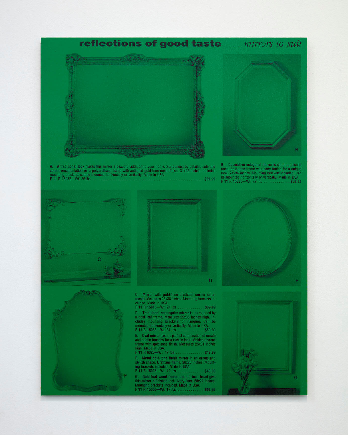 Jackson, Mirrors, 2020 (PJ 20.005) A