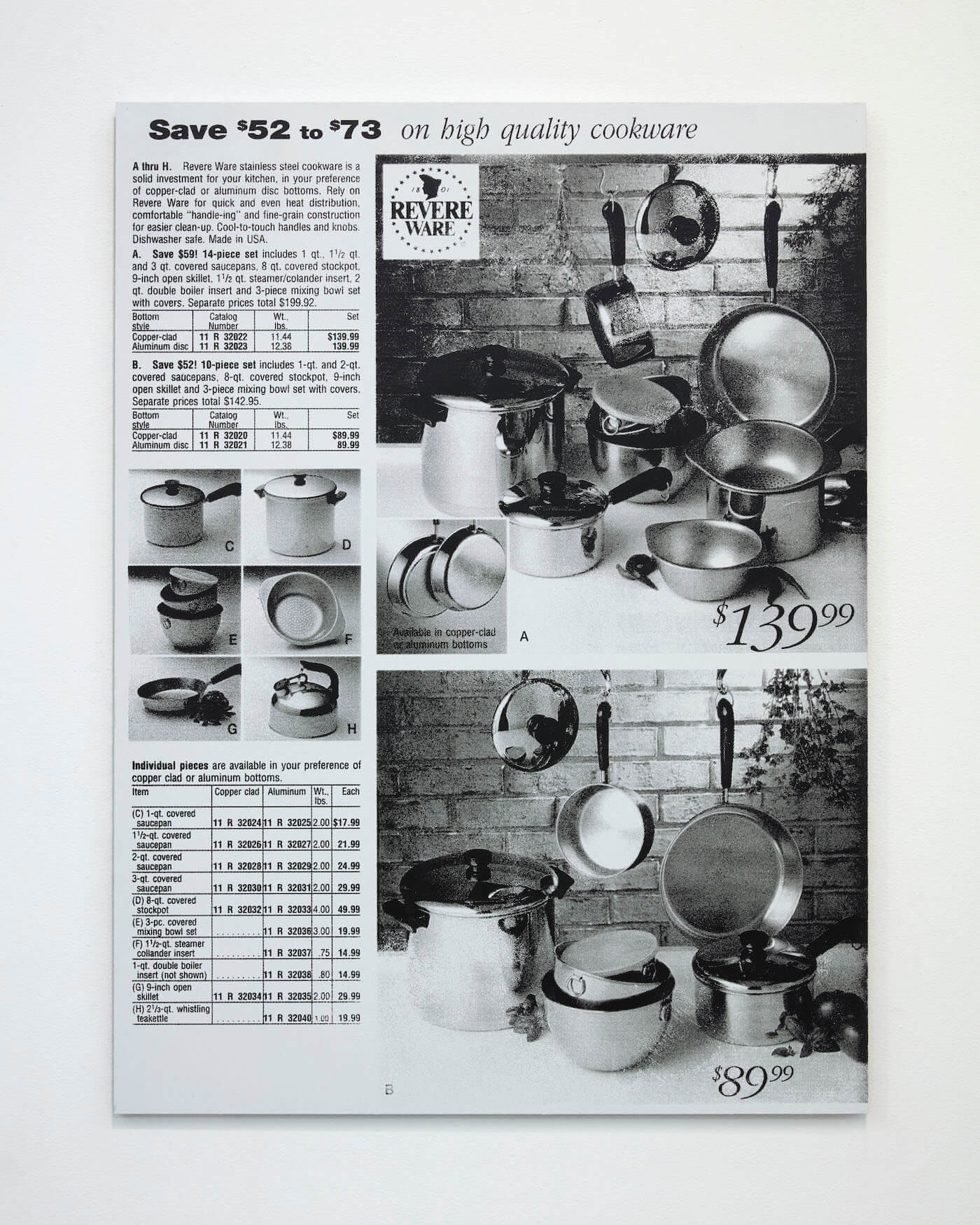 Jackson, Pots and Pans, 2020 (PJ 20.007) A