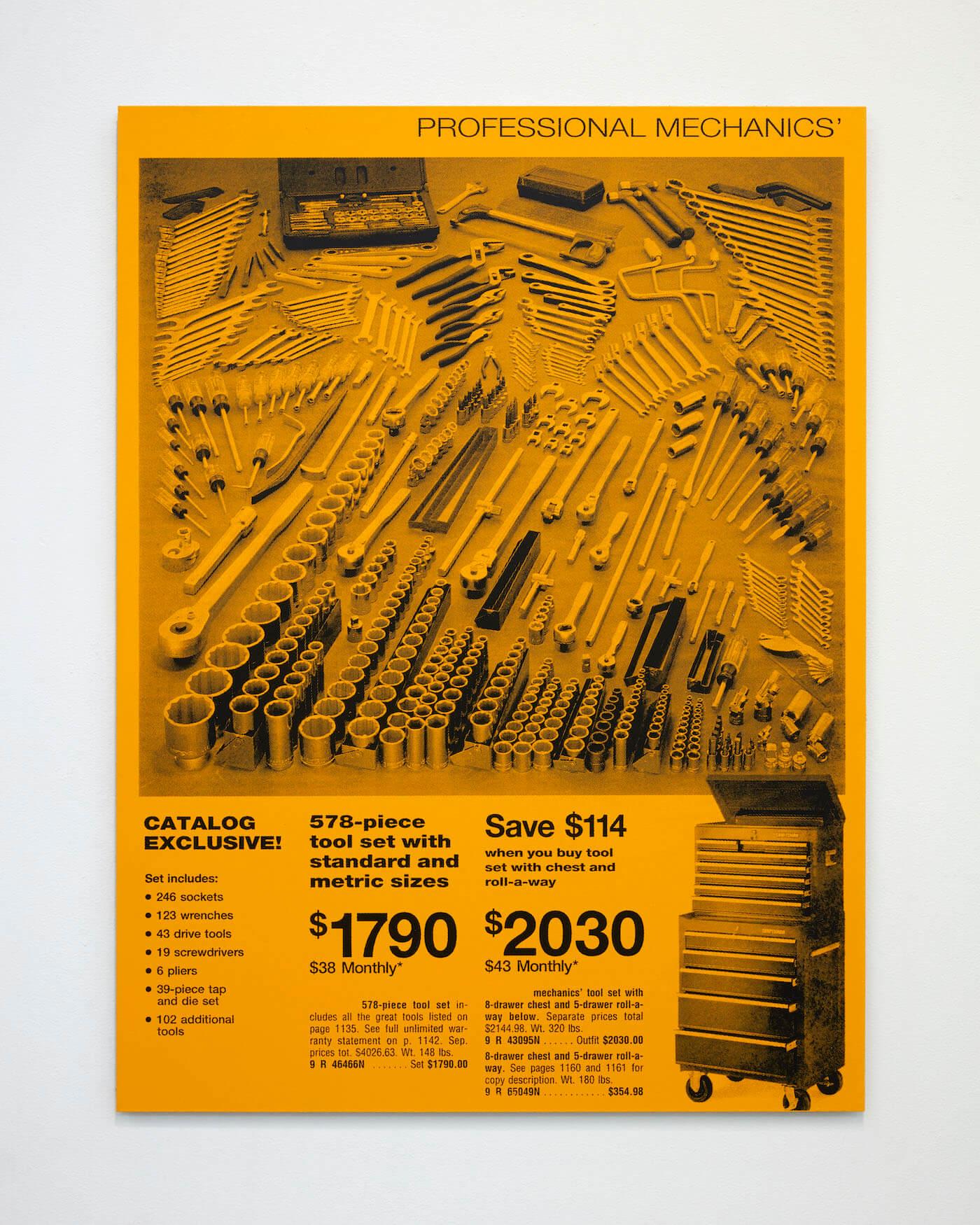 Jackson, Tools, 2020 (PJ 20.006) A