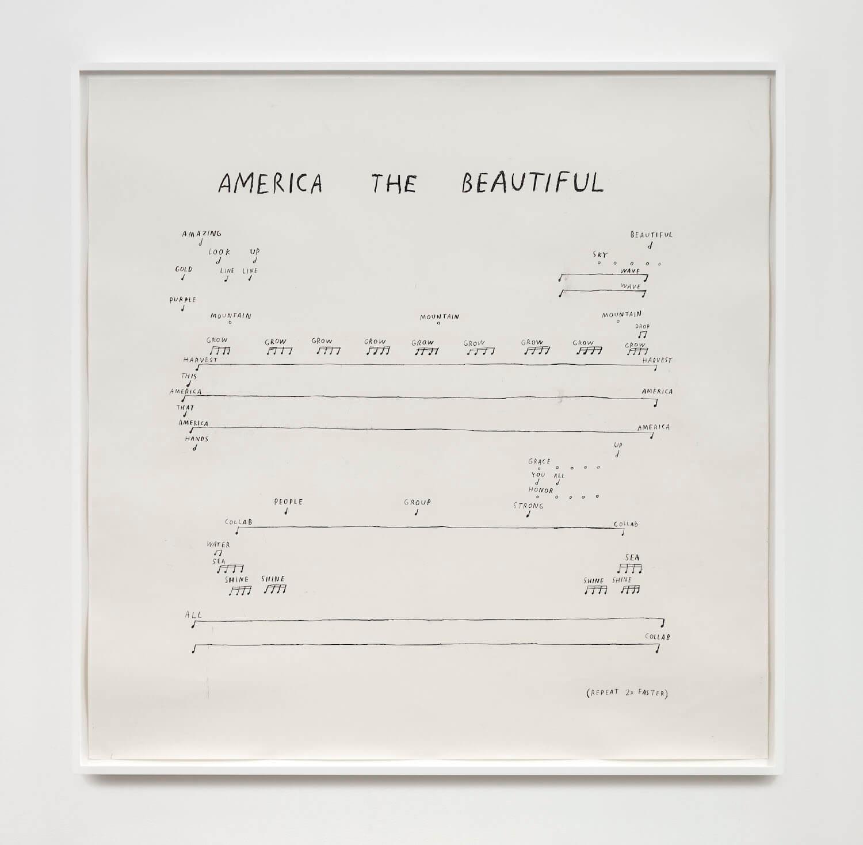 Kim, America the Beautiful, 2020 (CSK 20.021) A