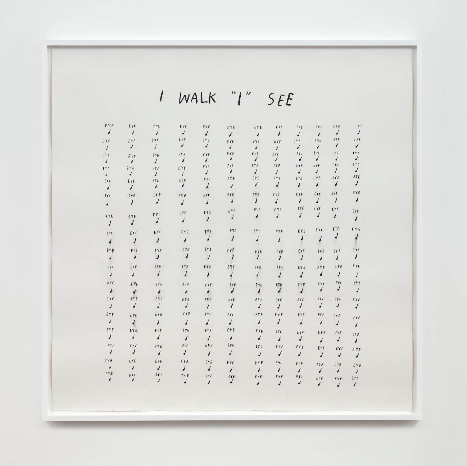 Kim, I Walk I See, 2020 (CSK 20.028) A