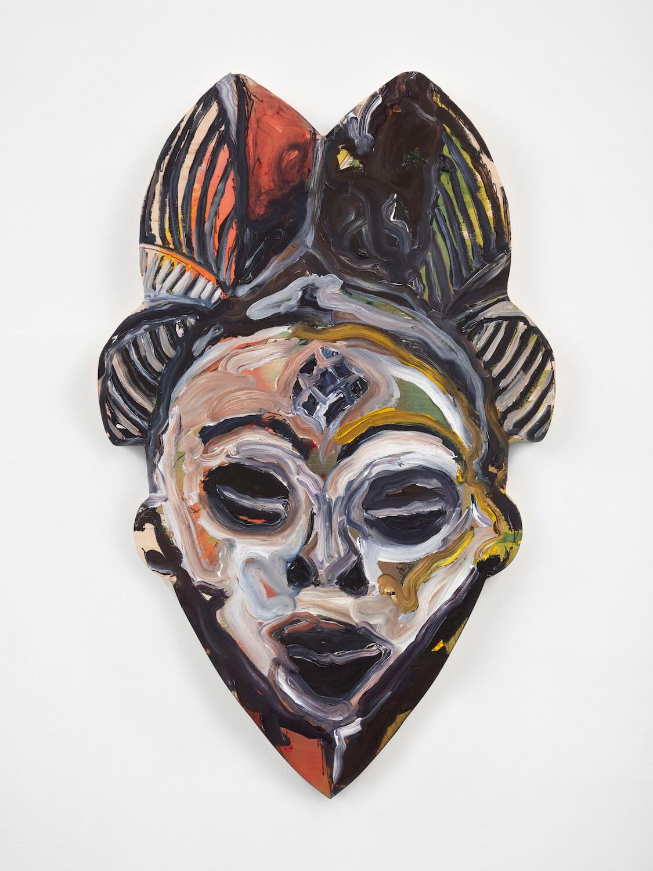 Nkoth, Mask #2, 2020 (LN 20.015) A