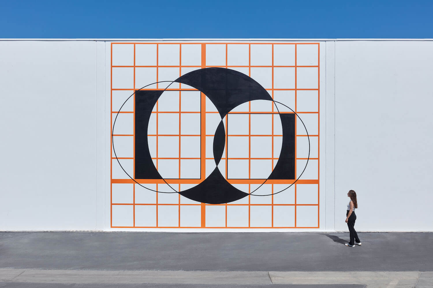 Horwitz, Language Series — 3 Circles and 2 Squares, 2005, 2021 (CH 21.002) A