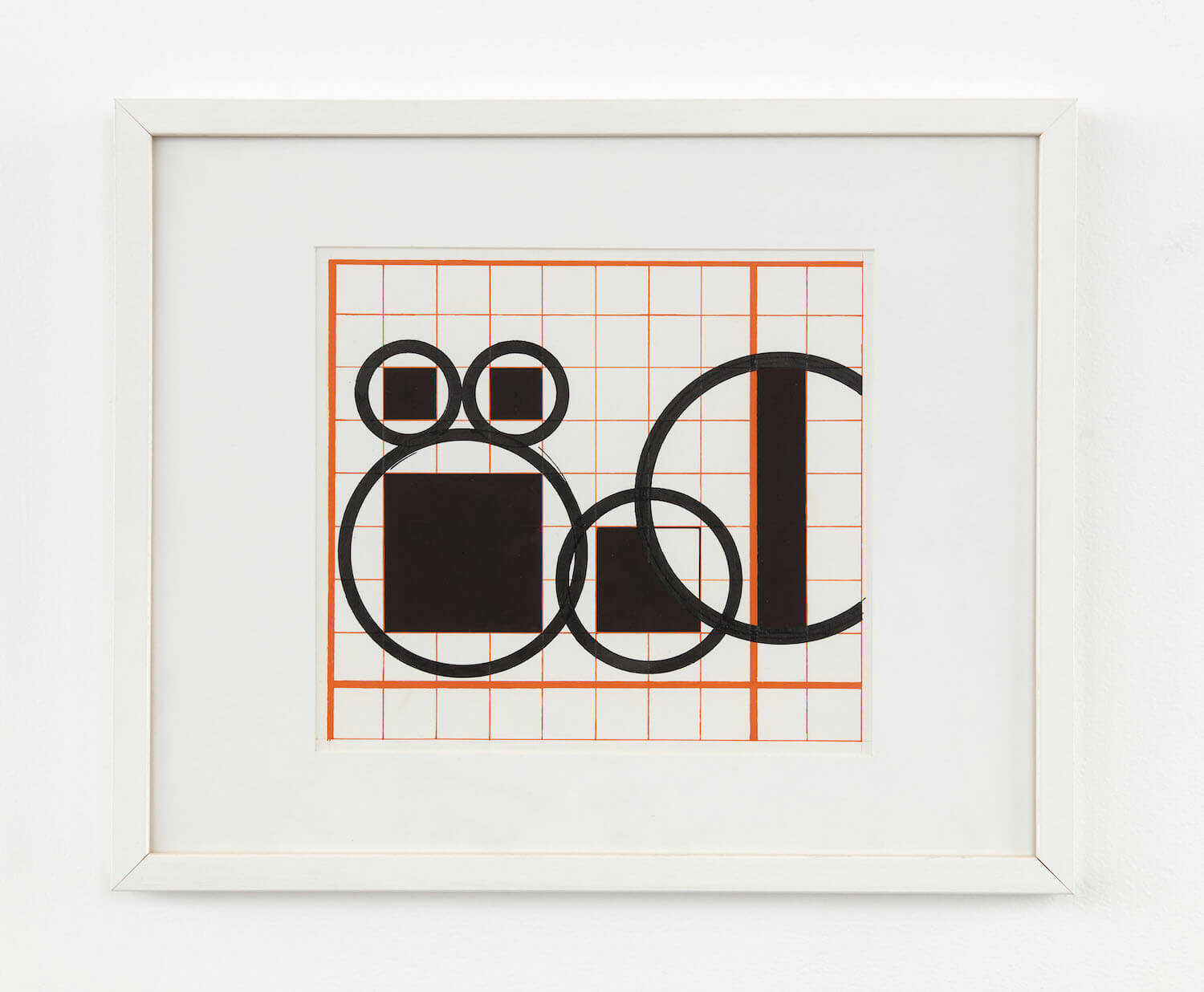 Horwitz, Study for Language Series I (CH 07.002)(#1435) A