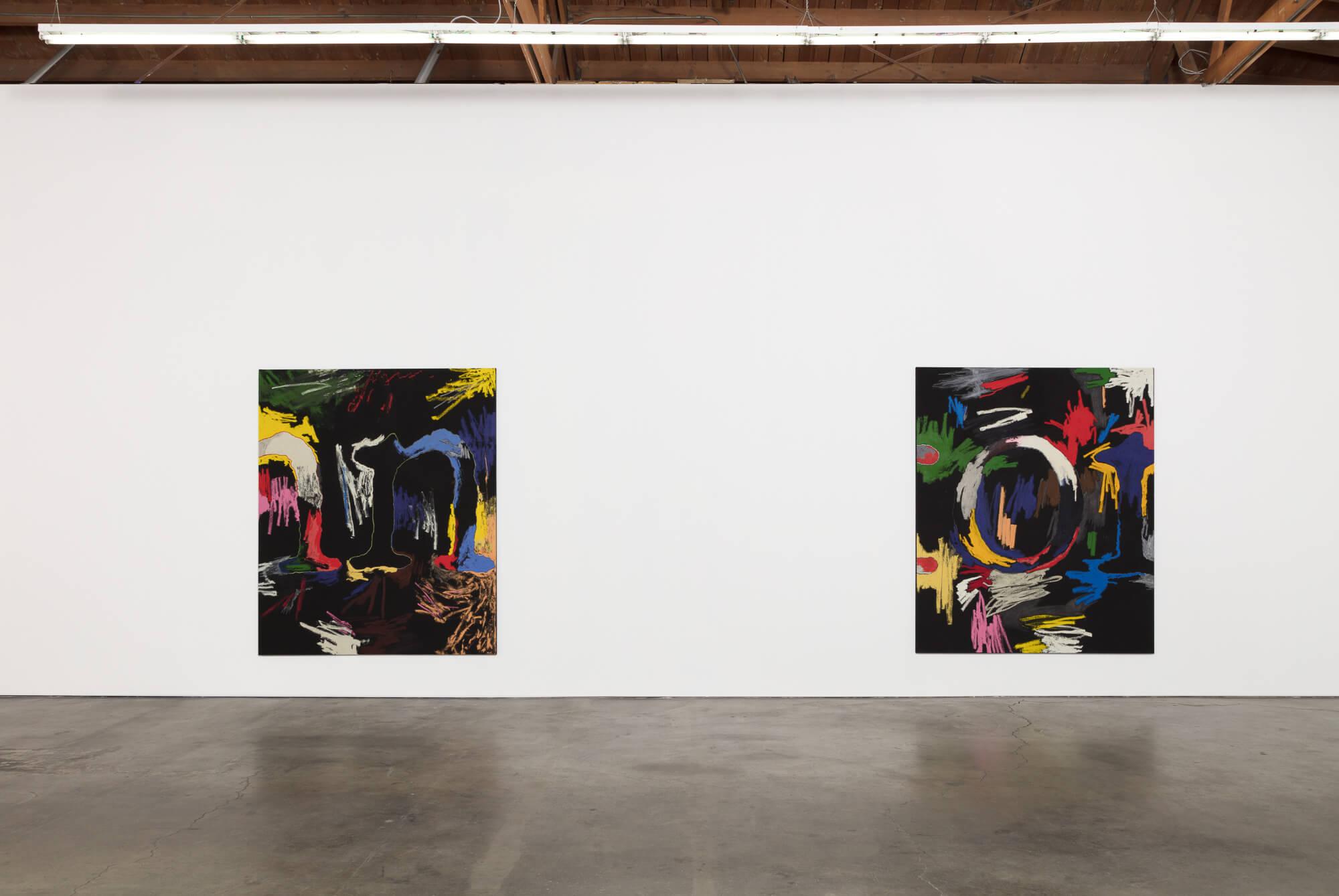 1_William Anastasi, installlation view, Ghebaly Gallery