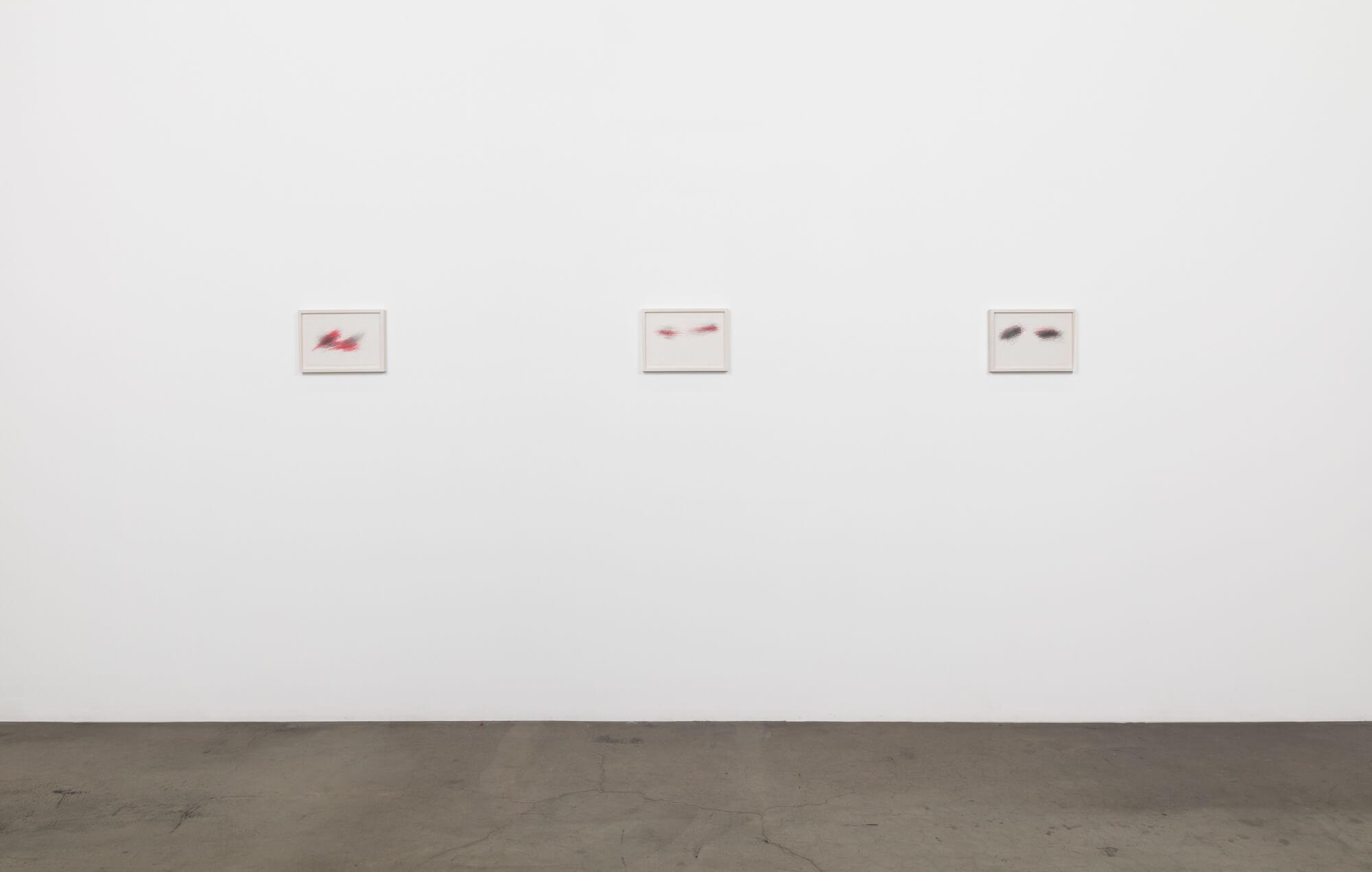 6_William Anastasi, installation view, Ghebaly Gallery