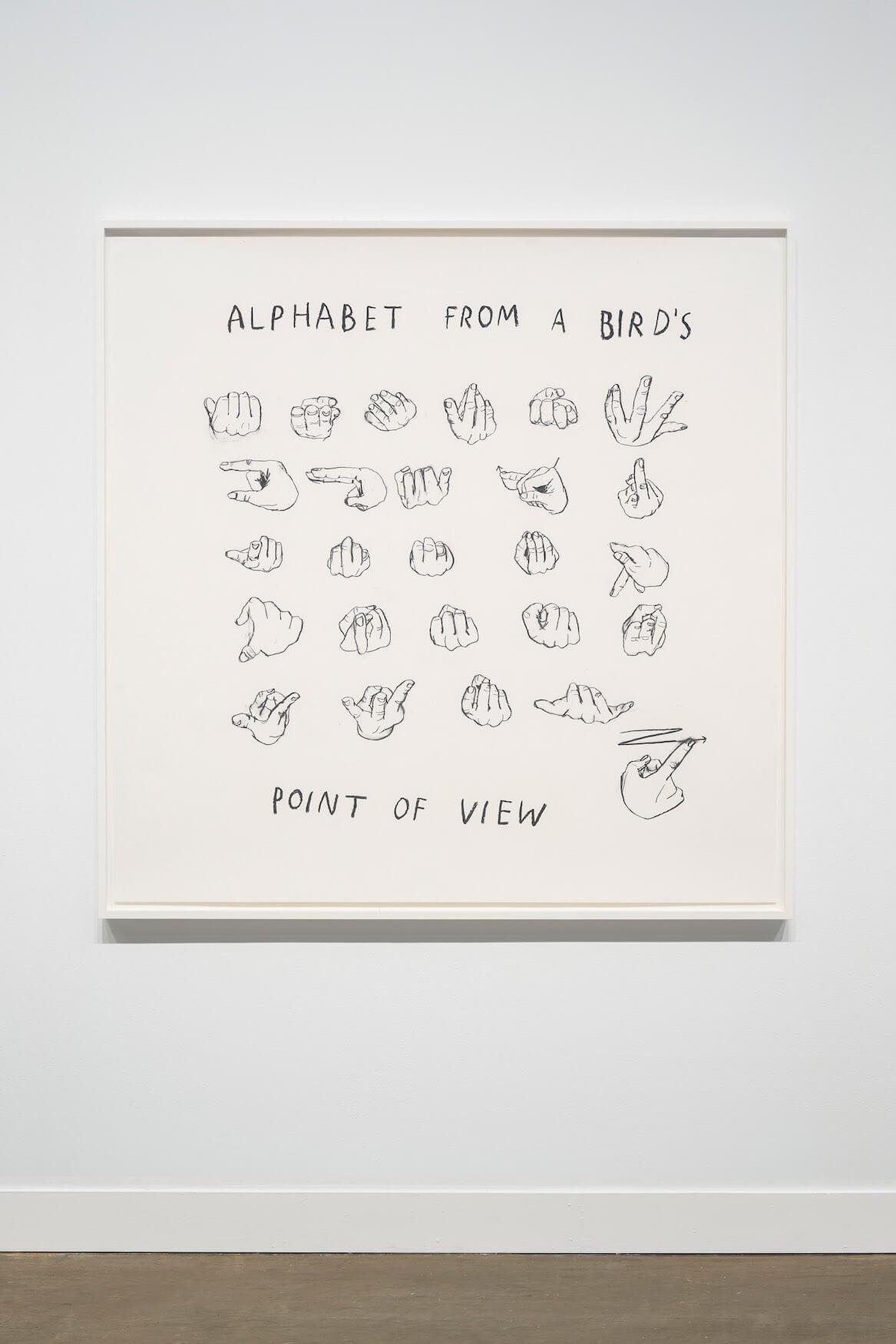 Kim, Alphabet From a Bird's Point of View, 2019 (CSK 19.019) B