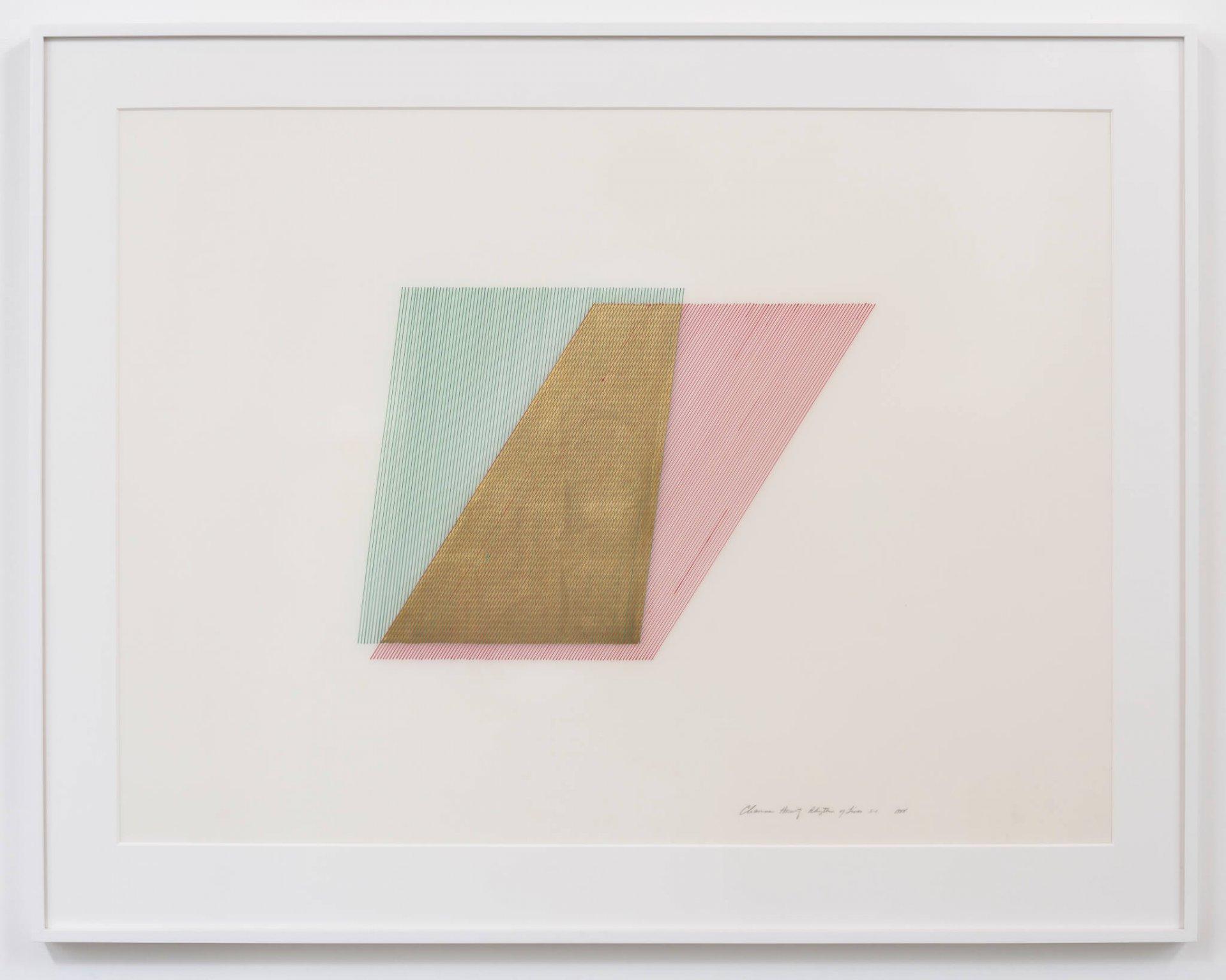 Horwitz, Rhythm of Lines 5-1, 1988 (CH 88.002)(#427)