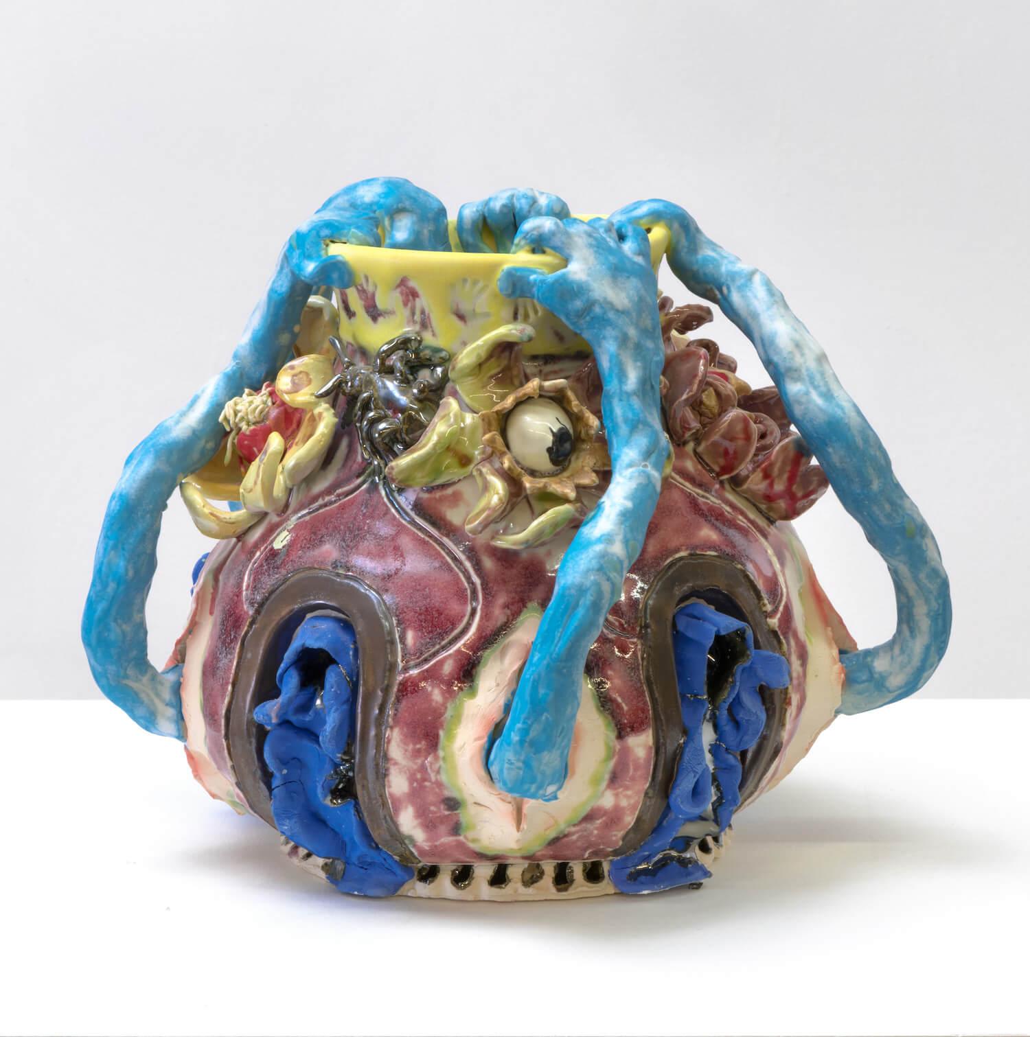 Farrag, Blue Cloaks Jar, 2019 (SF 19.038) A