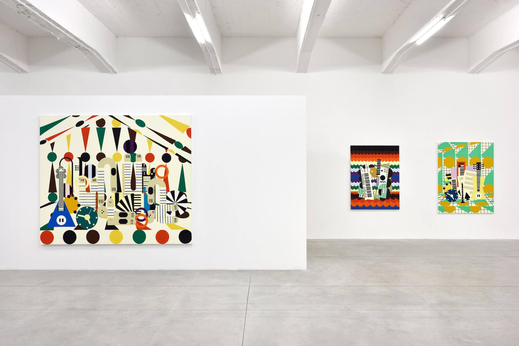 Farah_Atassi_circus 2_still_life_keyboard_jazz_set_Consortium_Museum.jpg
