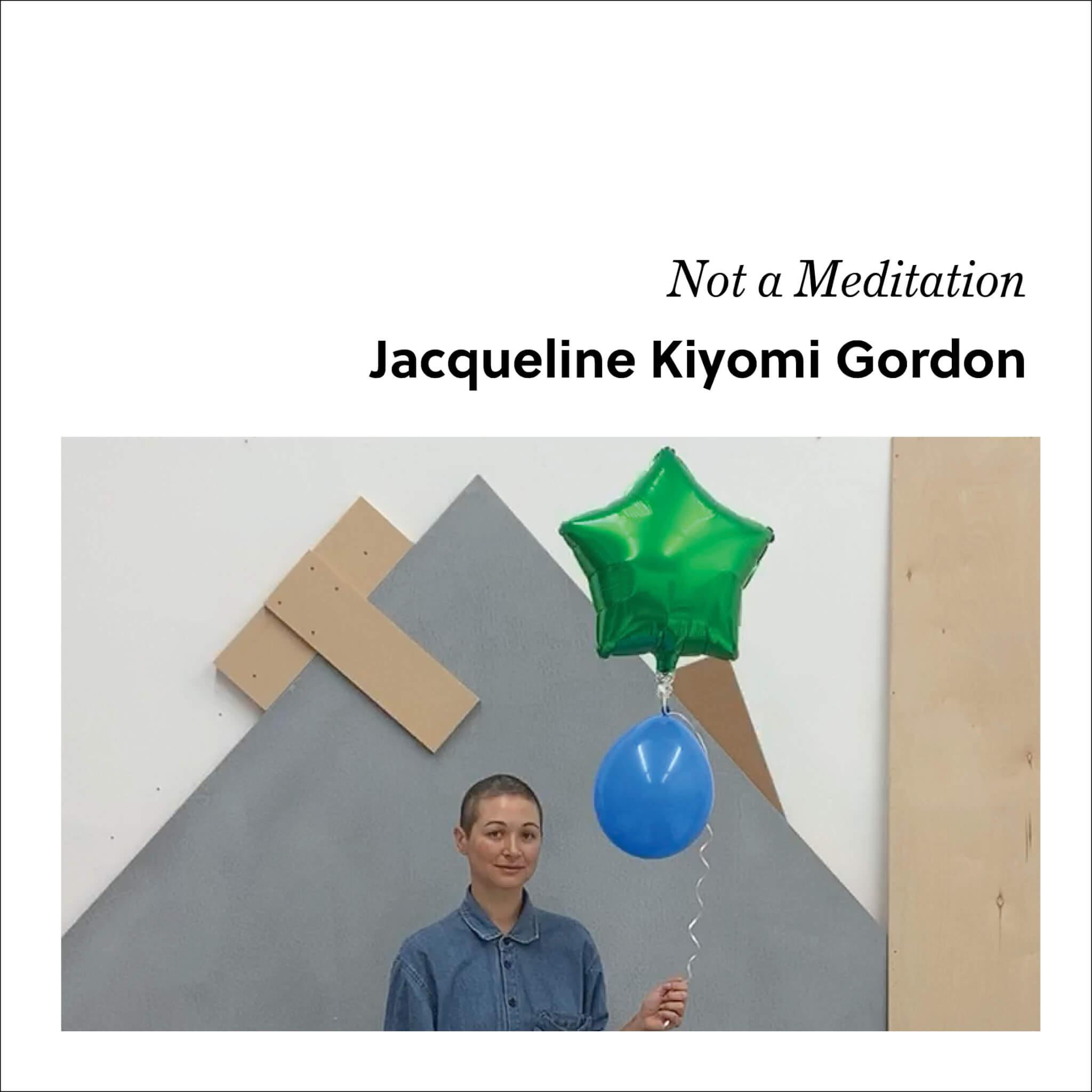 Week 3: Jacqueline Kiyomi Gordon