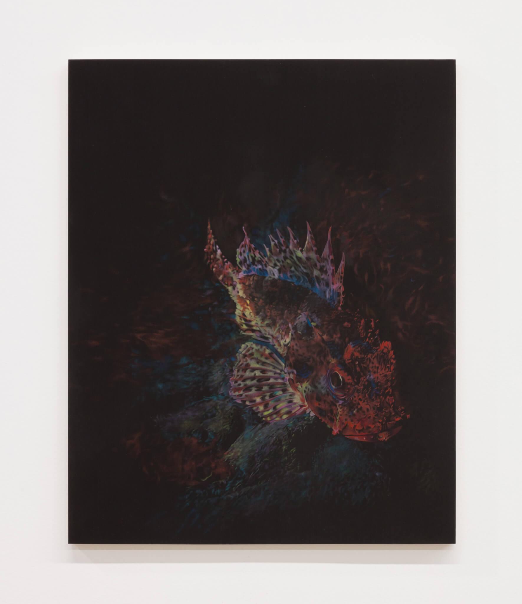 Mann, California Scorpionfish, 2020 (BM 20.001) A copy