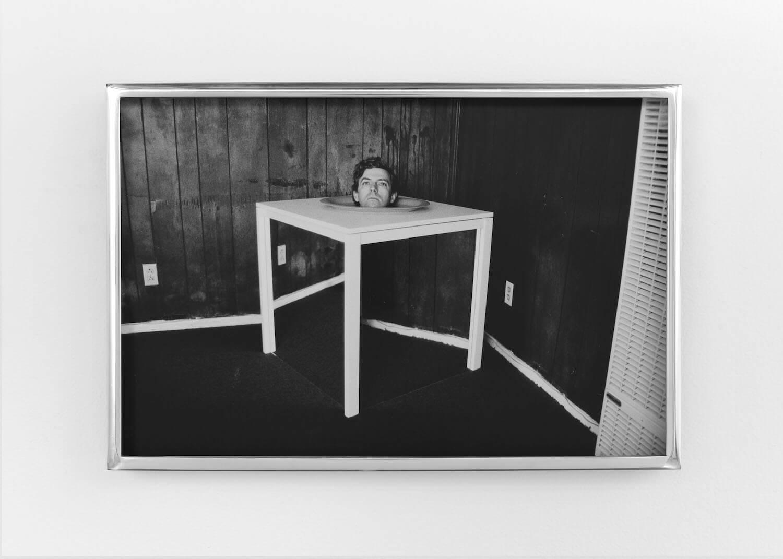Jackson, Head on Table, 2017 (PJ 17.023) A