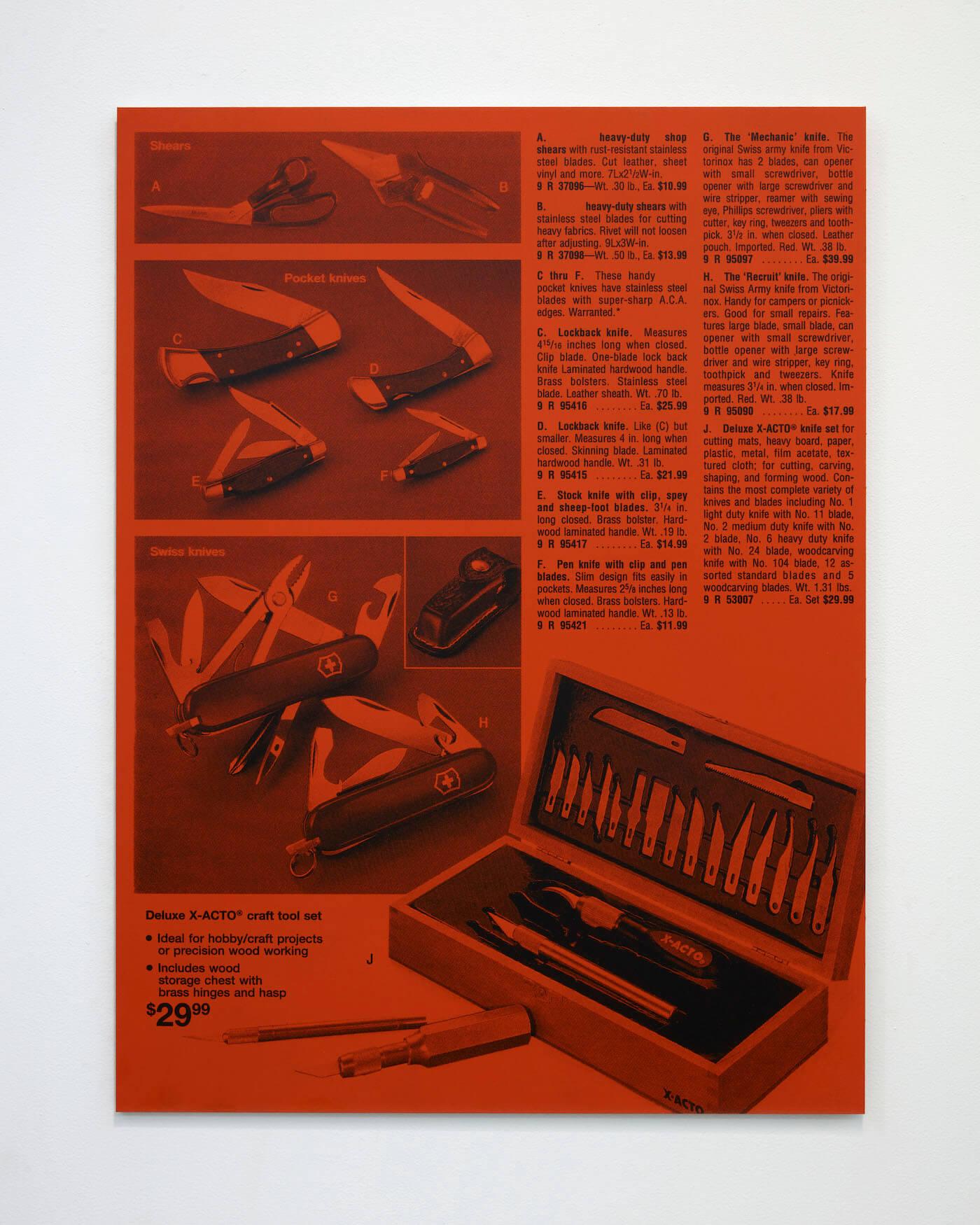 Jackson, Knives, 2020 (PJ 20.008) A