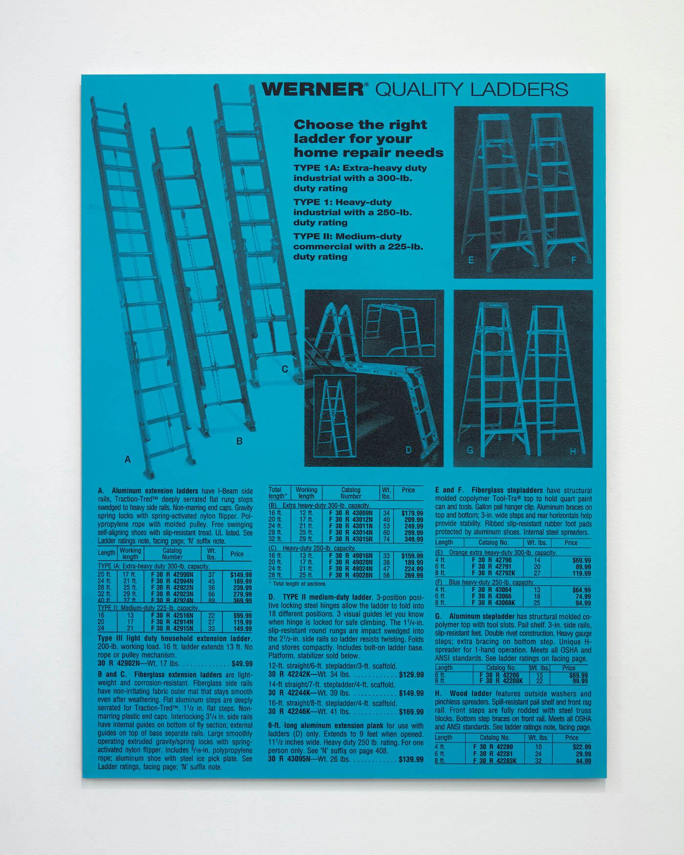 Jackson, Ladders, 2020 (PJ 20.010) A