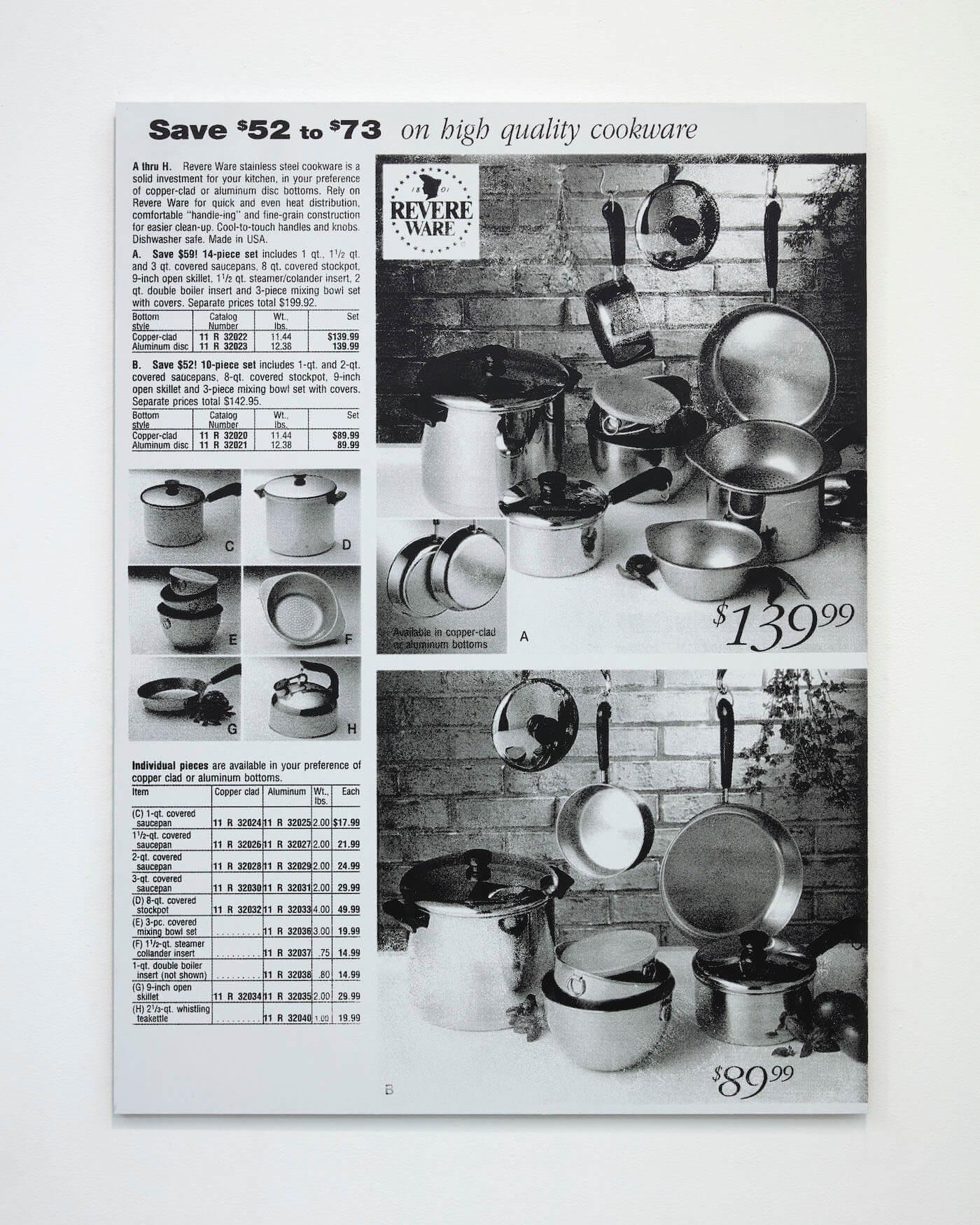 Jackson, Pots and Pans, 2020 (PJ 20.007) A