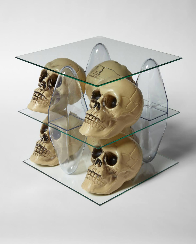 Jackson, Shelving Unit (Skulls), 2020 (PJ 20.019) D