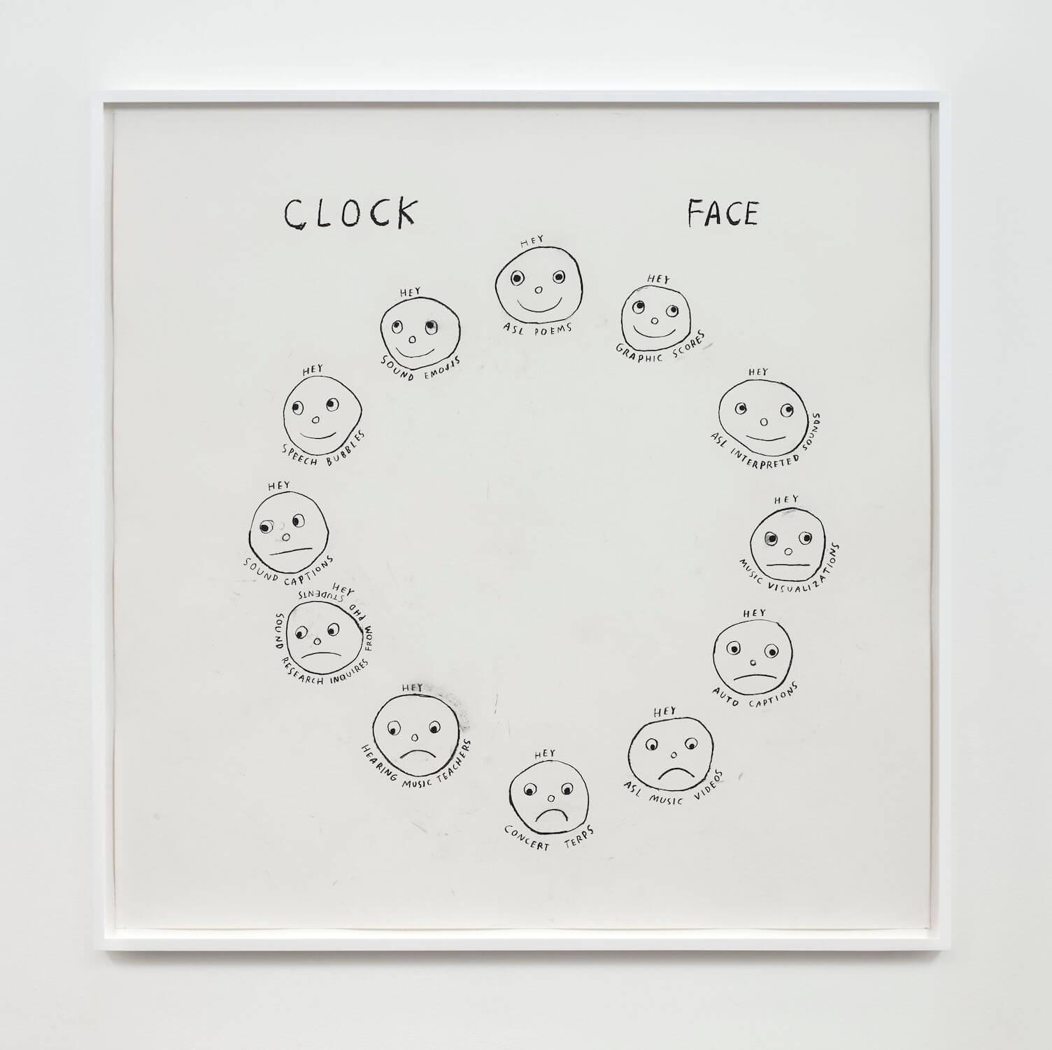 Kim, Clock Face, 2020 (CSK 20.044) A