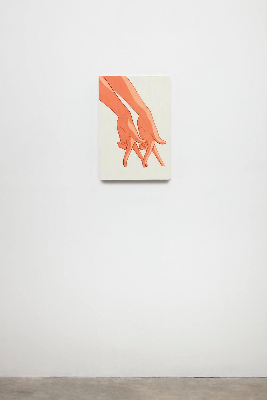 Haldeman, Hands, Double Left, Walk Behind, 2020 (IH 20.003) B